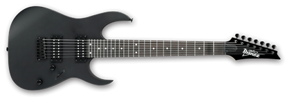 Ibanez GRG7221 GIO 7 String Electric Guitar Black Flat