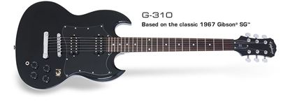 Picture of Epiphone SG-310 Electric Guitar (Ebony)