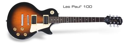 Picture of Epiphone Les Paul 100 Electric Guitar (Violin Sunburst)