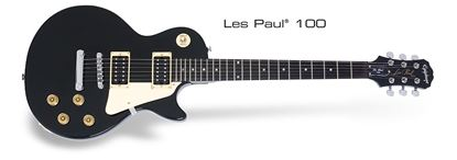 Picture of Epiphone Les Paul 100 Electric Guitar (Ebony)