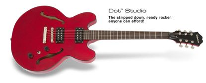 Epiphone Dot Studio Electric Guitar (Worn Cherry)