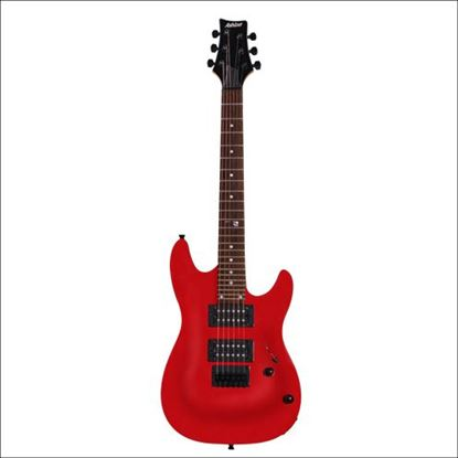 Ashton Joey Backstage Mini Electric Guitar (Red)