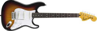 Picture of Squier Vintage Modified Stratocaster Rosewood Fingerboard 3-Colour Sunburst