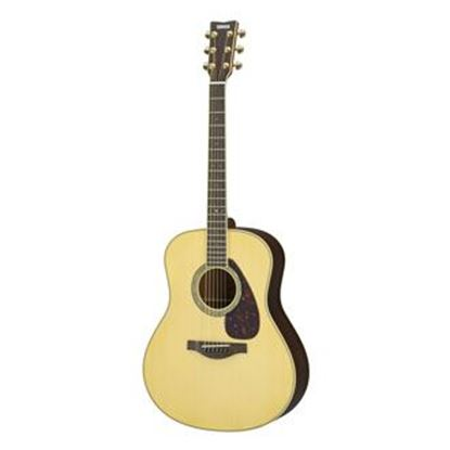 Picture of Yamaha LL6 ARE Spruce Jumbo Acoustic Guitar - Natural w Pickup