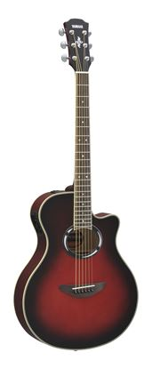 Yamaha APX500IIIDSR Acoustic Electric Guitar Dusk Sun Red