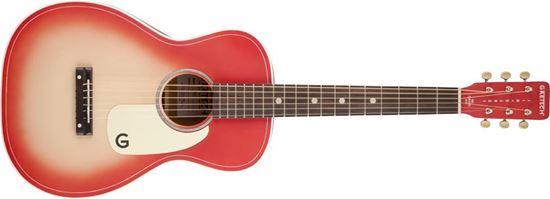 Gretsch G9515 Jim Dandy Flat Top Acoustic Guitar Coral Pink Burst