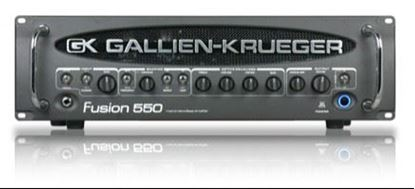 Picture of Gallien Krueger Fusion 550 Hybrid Valve Bass Amp Head - 550 Watts