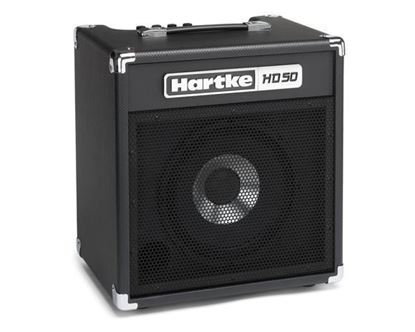Picture of Hartke HD50 Bass Guitar Combo Amp - 50 Watts/HyDrive 10inch Speaker