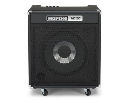 Hartke HD150 Bass Guitar Combo Amp - 150 Watts/HyDrive 15inch Speaker