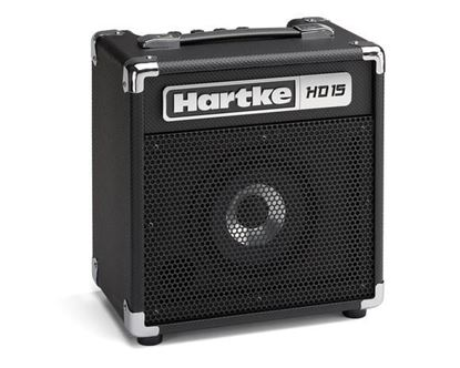 Hartke HD15 Bass Guitar Combo Amp - 15 Watts/HyDrive 6.5inch Speaker