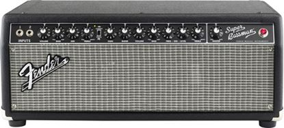 Fender Super Bassman Bass Amp Head (Black/Silver) - 300 Watts