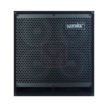 Warwick WCA408LWCE Lightweight Bass Amp Speaker Cabinet - 600 Watts/4x8inch Speakers
