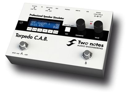 Two Notes Torpedo CAB Speaker Simulator Pedal