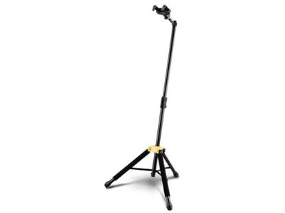 Picture of Hercules GS415B Auto Grab Single Guitar Stand with Leg Rest