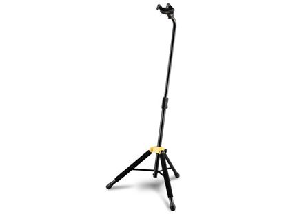 Picture of Hercules GS414B Auto Grab Single Guitar Stand with Leg Rest