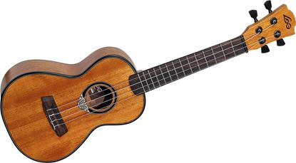 LAG Concert Ukulele Honey Mahogany Top and Back