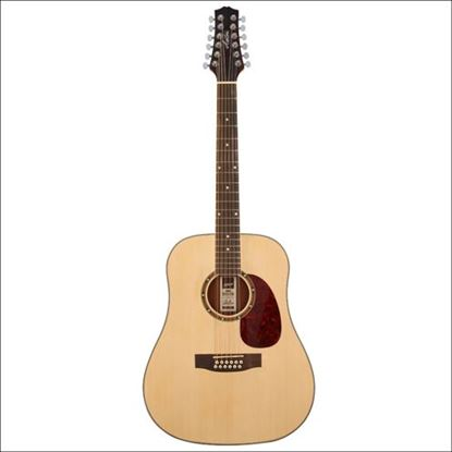 Ashton D25/12NTM 12-String Acoustic Guitar - Natural