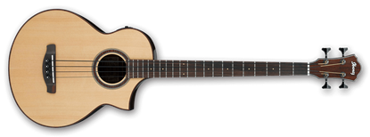 Picture of Ibanez AEWB20 Natural Acoustic Bass Guitar