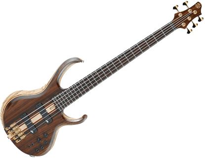Ibanez BTB1805 NTL BTB Series Premium 5-String Bass Guitar Natural Flat Low Gloss