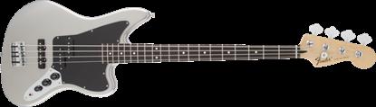 Fender Standard Jaguar Bass Guitar RW, Ghost Silver