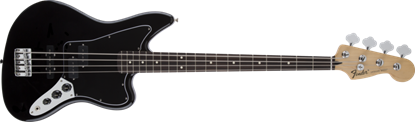 Fender Standard Jaguar Bass Guitar RW, Black