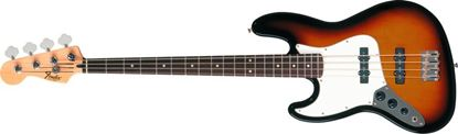 Fender Standard Jazz Bass Guitar Left Handed RW, Brown Sunburst