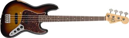 Fender Road Worn 60s Jazz Bass Guitar RW, 3-Colour Sunburst