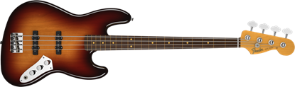 Fender Jaco Pastorius Precision Bass Guitar Fretless RW, 3 Colour Sunburst