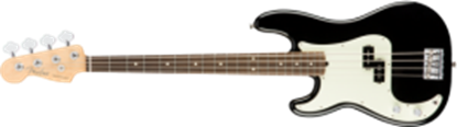 Fender American Professional Precision Bass Guitar Left-Hand, RW, Black