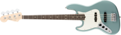 Fender American Professional Jazz Bass Guitar Left-Hand, RW, Sonic Gray