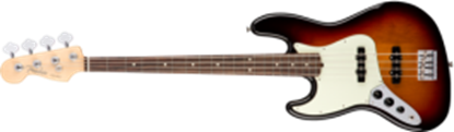Fender American Professional Jazz Bass Guitar Left-Hand, RW, 3-Color Sunburst