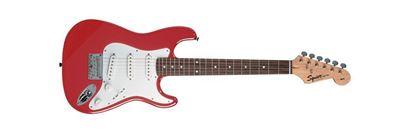 Squier Mini Stratocaster Electric Guitar Torino Red