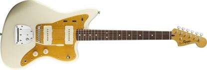 Squier J Mascis Jazzmaster Electric Guitar Rosewood Vintage White
