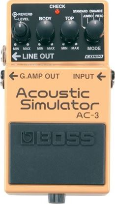 Picture of Boss AC-3 Acoustic Simulator Guitar Effects Pedal