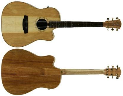Cole Clark Fat Lady 2 Acoustic Guitar - Cedar of Lebanon (CCFL2ECCOLB)