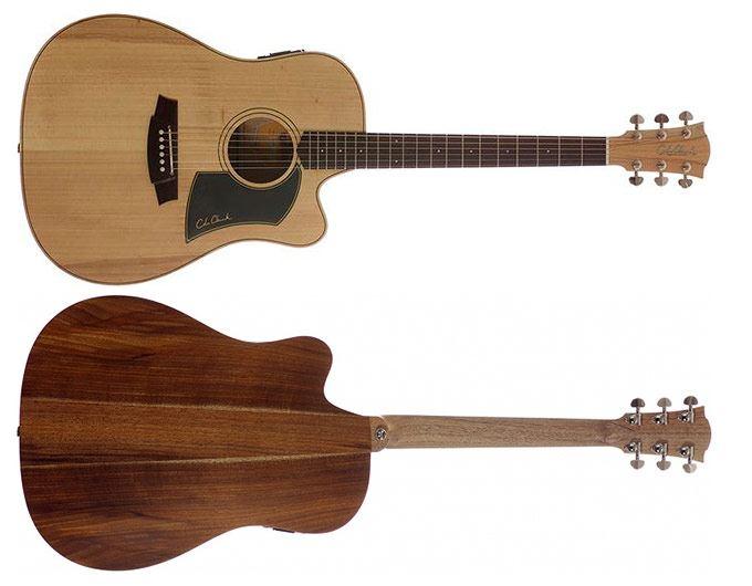 Cole Clark Fat Lady 1 Acoustic Guitar - Bunya Blackwood (CCFL1ECBB)