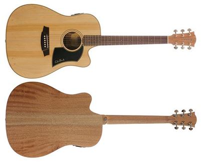 Cole Clark Fat Lady 1 Acoustic Guitar - Bunya Maple