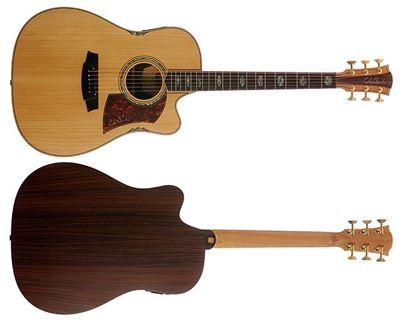 Cole Clark Fat Lady 3 Series Acoustic Guitar (Bunya/Rosewood)
