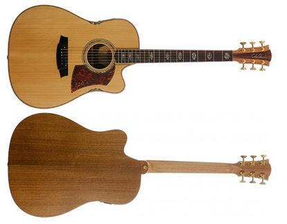 Cole Clark Fat Lady 3 Series Acoustic Guitar (Bunya/Blackwood)