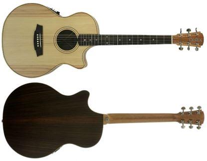 Picture of Cole Clark Angel 2 Series Acoustic Guitar (Bunya/Rosewood) (1)
