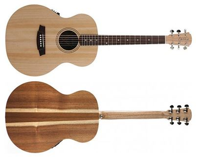 Cole Clark Angel 2 Acoustic Guitar - Bunya Blackwood (CCAN2EBB)