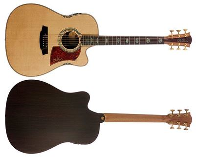 Cole Clark Fat Lady 3 Series Acoustic Guitar with Pickup (Spruce/Rosewood)