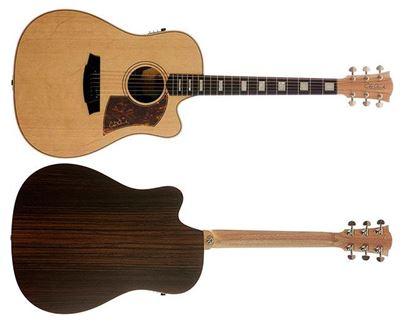 Cole Clark Fat Lady 2 Acoustic Guitar - Spruce Rosewood Ebony (CCFL2ECSRE)