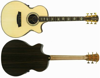 Picture of Cole Clark Angel 3 Series Acoustic Guitar (Spruce/Rosewood)