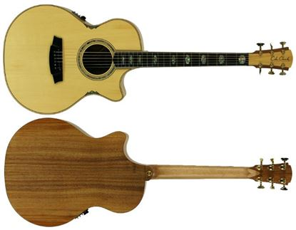 Picture of Cole Clark Angel 3 Series Acoustic Guitar (Huon/Blackwood)