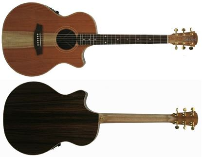 Cole Clark Angel 2 Acoustic Guitar - Redwood Rosewood (CCAN2ECRDRW)