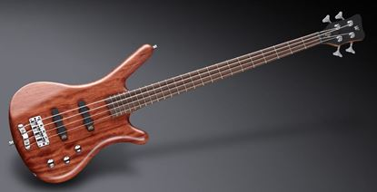 Warwick Corvette 4 Bass Guitar Natural Satin Active Bubinga