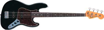 Fender 60s Jazz Bass Guitar RW, Black