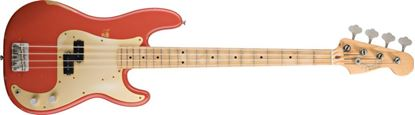 Fender Road Worn 50s Precision Bass Guitar Fiesta Red
