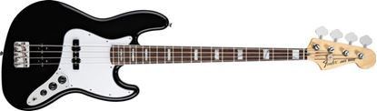 Fender 70s Jazz Bass Guitar RW, Black